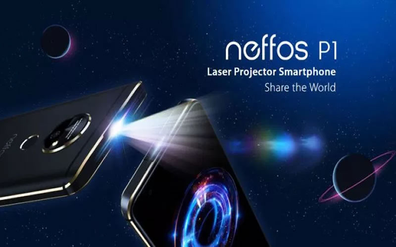 Neffos P1 Ultra Portable Projector Phone - Review, Discount and