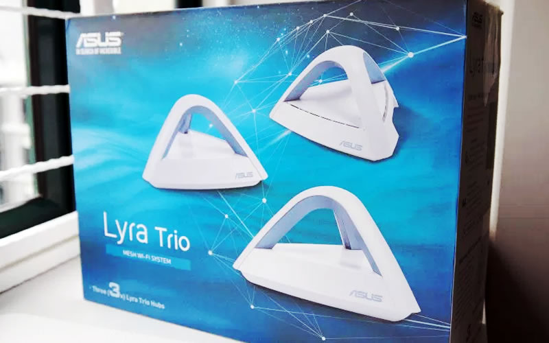 Asus Lyra Trio Mesh Wi-Fi System - Review, Price, Discount and Promotions