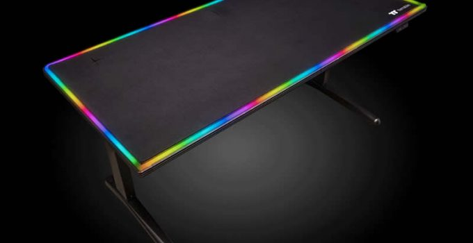 Thermaltake Level 20 RGB Battlestation Gaming Desk - Review, Price, Discount and Promotions