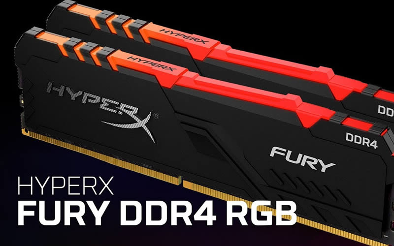 Kingston HyperX Fury DDR4 RGB RAM Module - Review, Price, Discount and Promotions