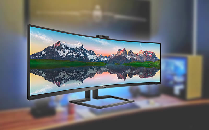 Philips 32:9 Superwide Curved LCD Display - Review, Price, Discount and Promotions